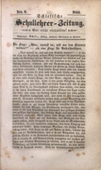 Schlesische Schullehrer-Zeitung, 1844, Jg. 2, Nro. 9