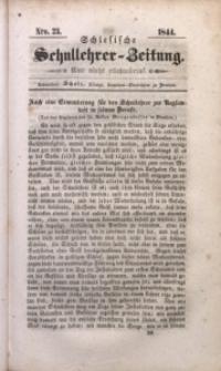 Schlesische Schullehrer-Zeitung, 1844, Jg. 2, Nro. 23