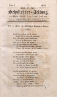 Schlesische Schullehrer-Zeitung, 1845, Jg. 3, Nro. 2