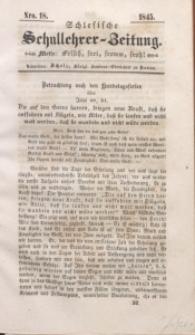 Schlesische Schullehrer-Zeitung, 1845, Jg. 3, Nro. 18