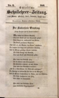 Schlesische Schullehrer-Zeitung, 1846, Jg. 4, Nro. 11
