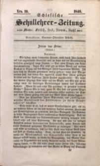 Schlesische Schullehrer-Zeitung, 1846, Jg. 4, Nro. 19