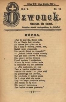 Dzwonek, 1902, R. 9, nr 16