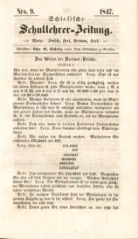 Schlesische Schullehrer-Zeitung, 1847, Jg. 5, Nro. 9