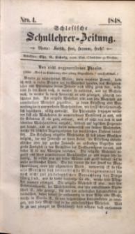 Schlesische Schullehrer-Zeitung, 1848, Jg. 6, Nro. 4