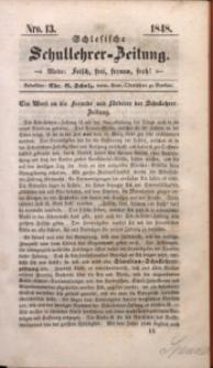 Schlesische Schullehrer-Zeitung, 1848, Jg. 6, Nro. 13