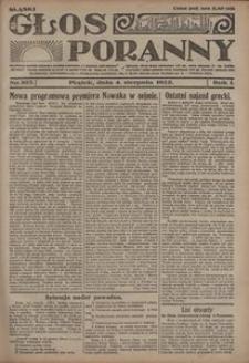 Głos Poranny, 1922, R. 1, nr 103