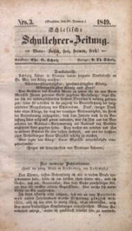 Schlesische Schullehrer-Zeitung, 1849, Jg. 7, Nro. 3