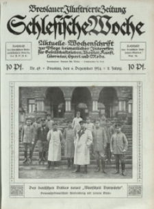 Schlesische Woche, 1914, Jg. 2, Nr. 49