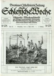 Schlesische Woche, 1915, Jg. 3, Nr. 27