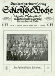 Schlesische Woche, 1915, Jg. 3, Nr. 34