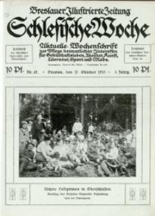 Schlesische Woche, 1915, Jg. 3, Nr. 42