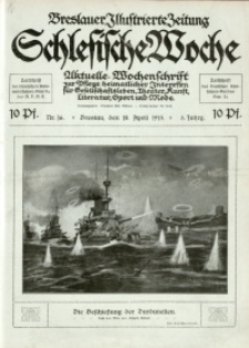 Schlesische Woche, 1915, Jg. 3, Nr. 16