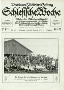 Schlesische Woche, 1915, Jg. 3, Nr. 33