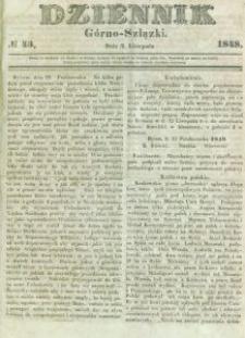 Dziennik Górno-Szlązki, 1848, nr 43