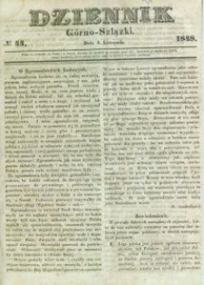 Dziennik Górno-Szlązki, 1848, nr 44