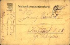 Korespondencja z dnia 12 lutego 1914 roku.