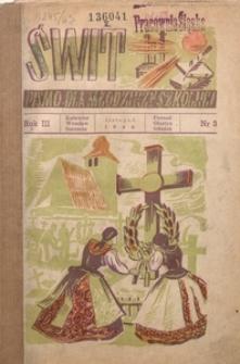 Świt, 1946, R. 3, nr 3