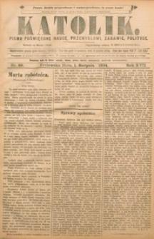 Katolik, 1884, R. 20, nr 59