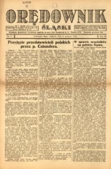 Orędownik Śląski, 1922, R. 3, nr 6