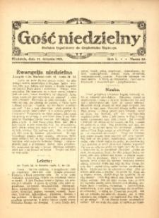 Gość Niedzielny, 1921, R. 1, nr 25
