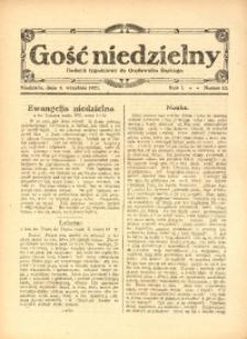 Gość Niedzielny, 1921, R. 1, nr 27