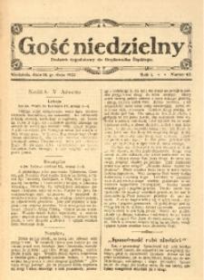 Gość Niedzielny, 1921, R. 1, nr 42