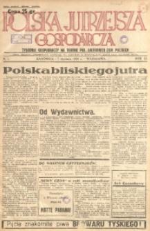 Polska Jutrzejsza Gospodarcza, 1934, R. 3, nr 1