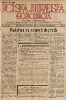 Polska Jutrzejsza Gospodarcza, 1935, R. 4, nr 15
