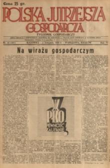 Polska Jutrzejsza Gospodarcza, 1935, R. 4, nr 32