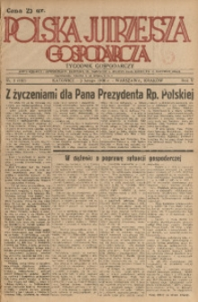 Polska Jutrzejsza Gospodarcza, 1936, R. 5, nr 3