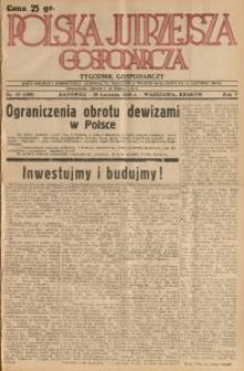 Polska Jutrzejsza Gospodarcza, 1936, R. 5, nr 10