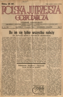 Polska Jutrzejsza Gospodarcza, 1936, R. 5, nr 31