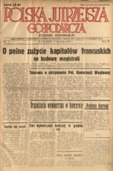 Polska Jutrzejsza Gospodarcza, 1937, R. 6, nr 2
