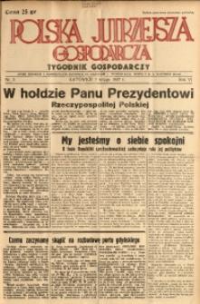Polska Jutrzejsza Gospodarcza, 1937, R. 6, nr 5