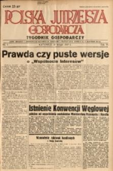 Polska Jutrzejsza Gospodarcza, 1937, R. 6, nr 7