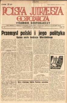 Polska Jutrzejsza Gospodarcza, 1937, R. 6, nr 12