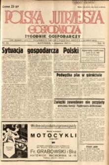 Polska Jutrzejsza Gospodarcza, 1937, R. 6, nr 33
