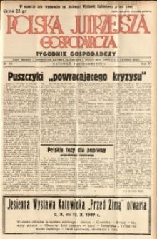 Polska Jutrzejsza Gospodarcza, 1937, R. 6, nr 37