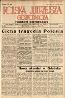 Polska Jutrzejsza Gospodarcza, 1937, R. 6, nr 40