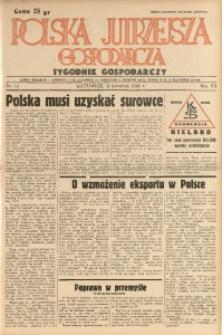 Polska Jutrzejsza Gospodarcza, 1938, R. 7, nr 14