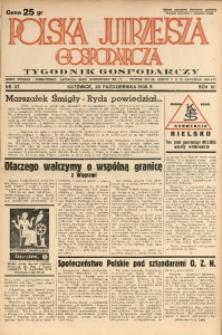 Polska Jutrzejsza Gospodarcza, 1938, R. 7, nr 37