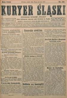 Kuryer Śląski, 1916, R. 8 [właśc. 10], nr 22