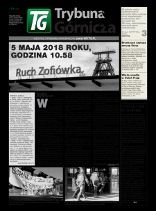 Trybuna Górnicza, 2018, nr19 (1229)
