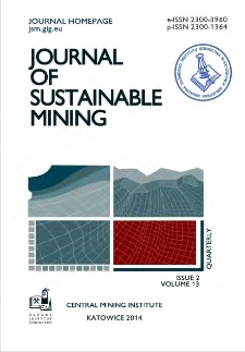 Assessment of hazard due to release of gaseous ammonia from the fly ash-water mixture applied in longwall mine gobs