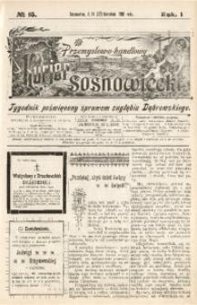Przemysłowo-Handlowy Kurjer Sosnowiecki, 1901, R. 1, No 16