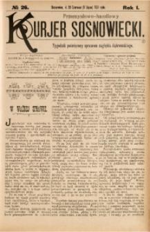 Przemysłowo-Handlowy Kurjer Sosnowiecki, 1901, R. 1, No 26