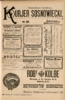 Przemysłowo-Handlowy Kurjer Sosnowiecki, 1901, R. 1, No 28