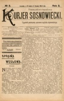 Przemysłowo-Handlowy Kurjer Sosnowiecki, 1902, R. 2, No 2