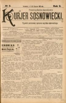 Przemysłowo-Handlowy Kurjer Sosnowiecki, 1902, R. 2, No 3